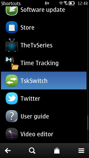 Screenshot, Tsk Switch