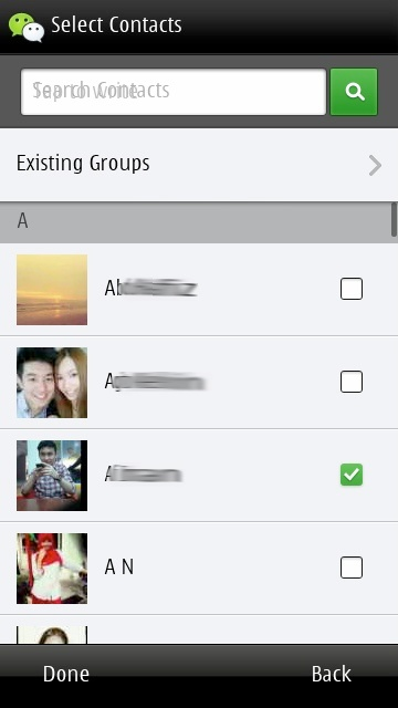 Screenshot, WeChat