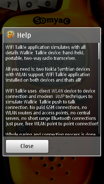 Screenshot, Wifi Talkie