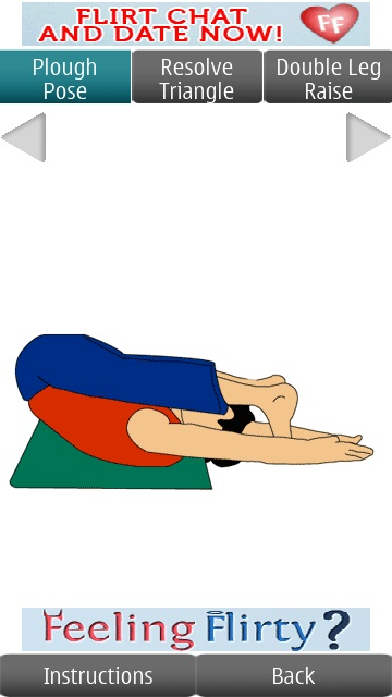 Screenshot, Active Yoga