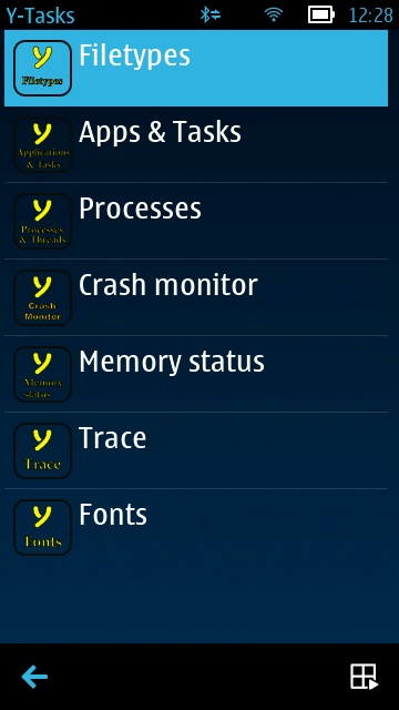 Screenshot, Y-Tasks