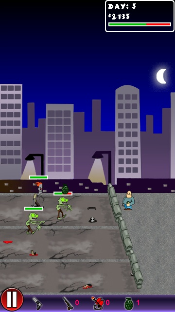 Screenshot, Zombie Defense
