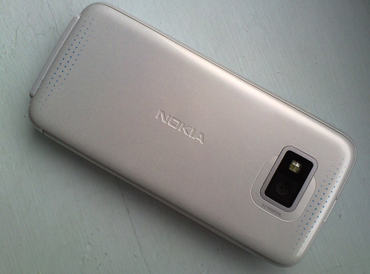 Nokia 5530 XpressMusic up close