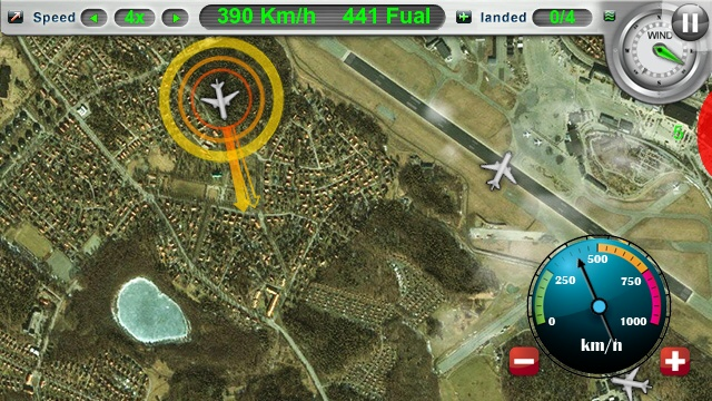 Aircraft Control, Screenshot