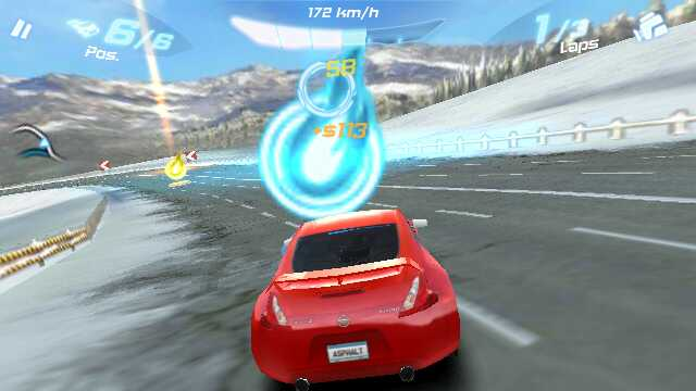 Asphalt 6 screenshot