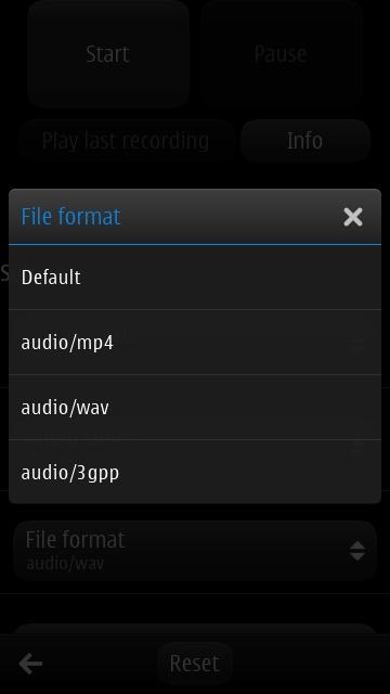 Screenshot, Audio Recorder Pro