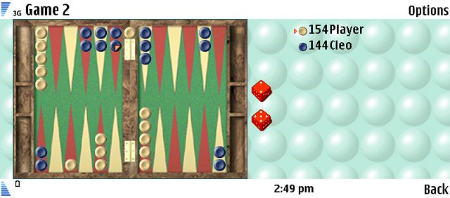 ZingMagic Backgammon