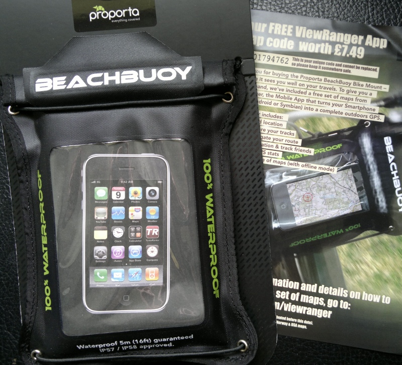 BeachBuoy Bike Mount Waterproof Case