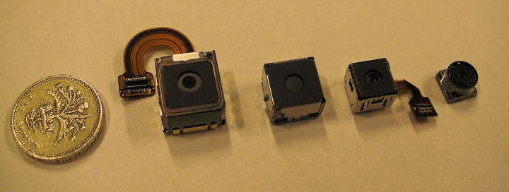 The camera modules of the N73, N86, N97 - and the C7