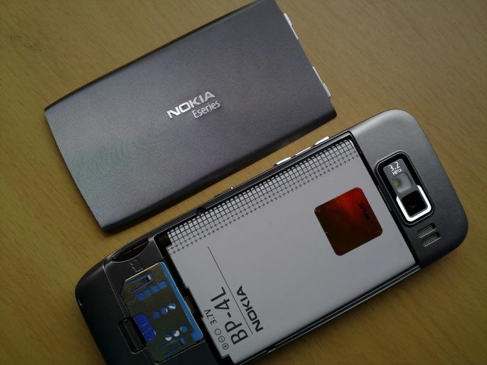 E52 - huge battery