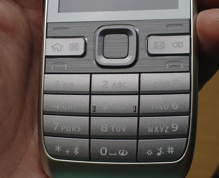 E52 grey/white keypad problem