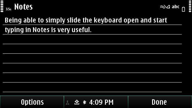 Nokia E7 Notes