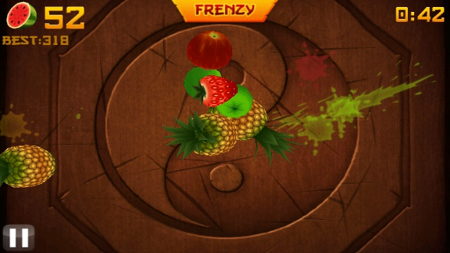 fruit ninja frenzy for nokia 500 free download