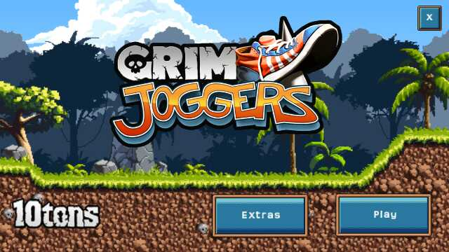 Screenshot, Grim Joggers