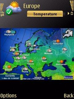 Handy Weather screenshot