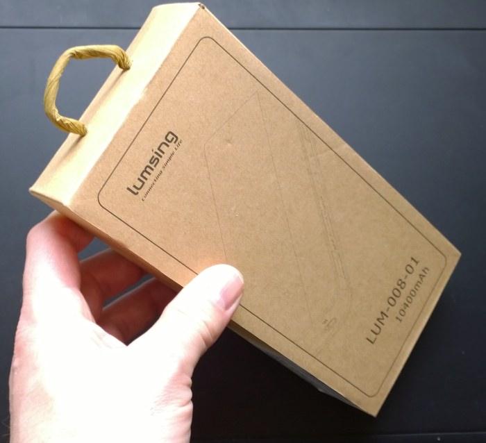 Lumsing Portable Power Bank