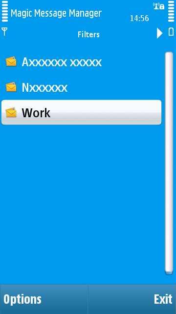 Magic Message Manager screenshot