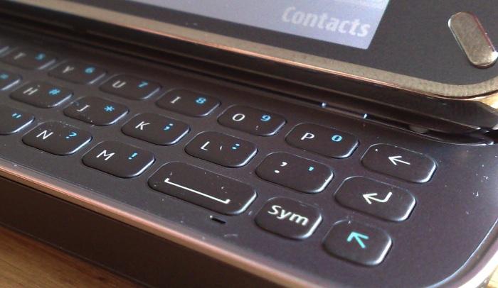 Retail Nokia N97 keyboard