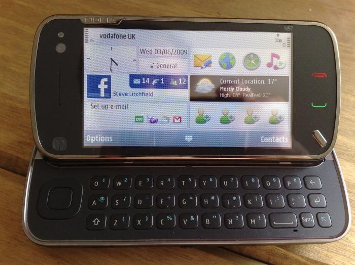Retail Nokia N97