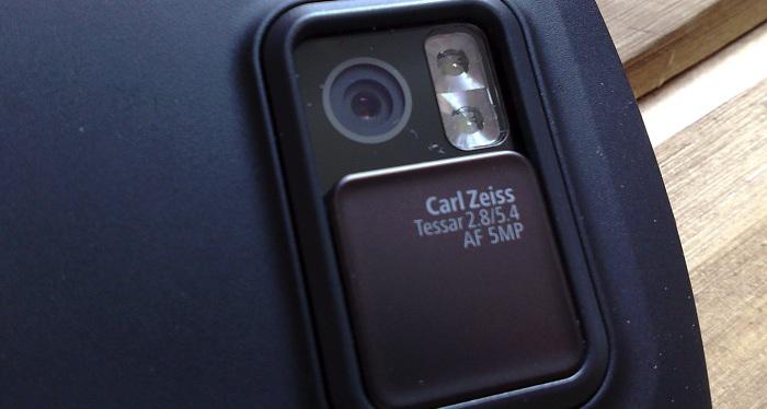 N97 camera and LED flash