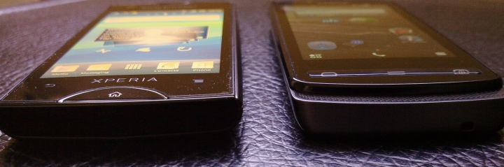 Xperia Ray and Nokia 700