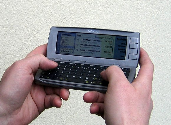 Nokia 9500 real life