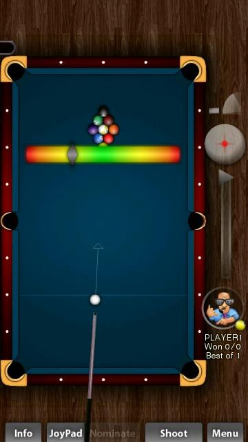 Screenshot, Pool Rebel