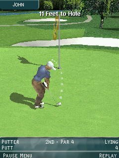 Pro Series Golf putting vertical