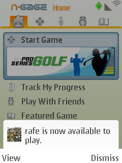 Pro Series Golf online screenshot