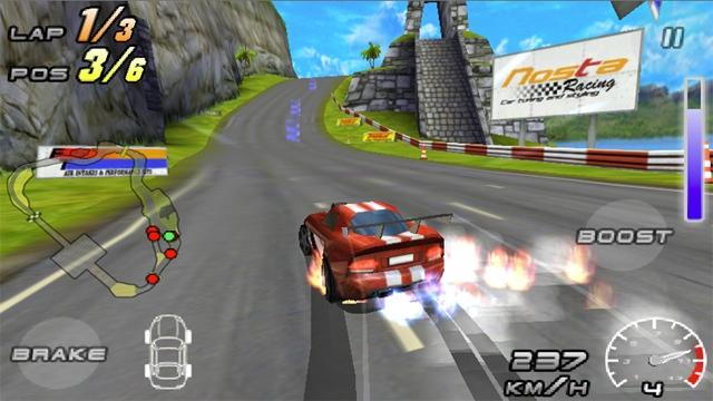 Raging Thunder 2 screenshot
