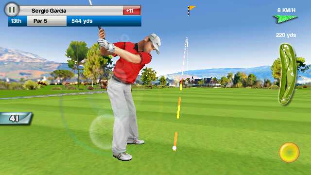 Screenshot from Real Golf 2011 HD