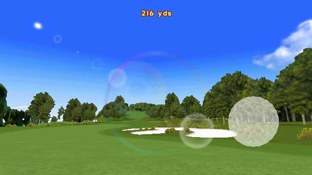 Screenshot, Real Golf 2011