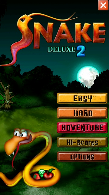 Screenshot, Snake Deluxe 2
