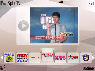 Spb TV screenshot