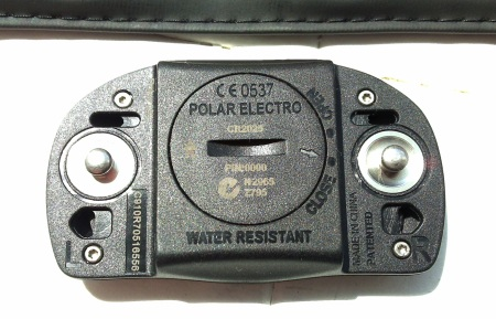 Polar heart monitor from Sports Tracker