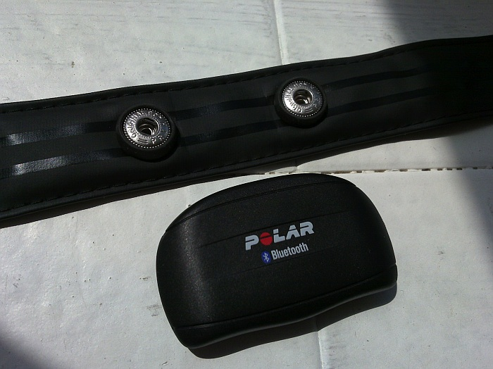 Polar Bluetooth heart Monitor