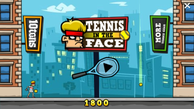 Tennis in the Face screenshot