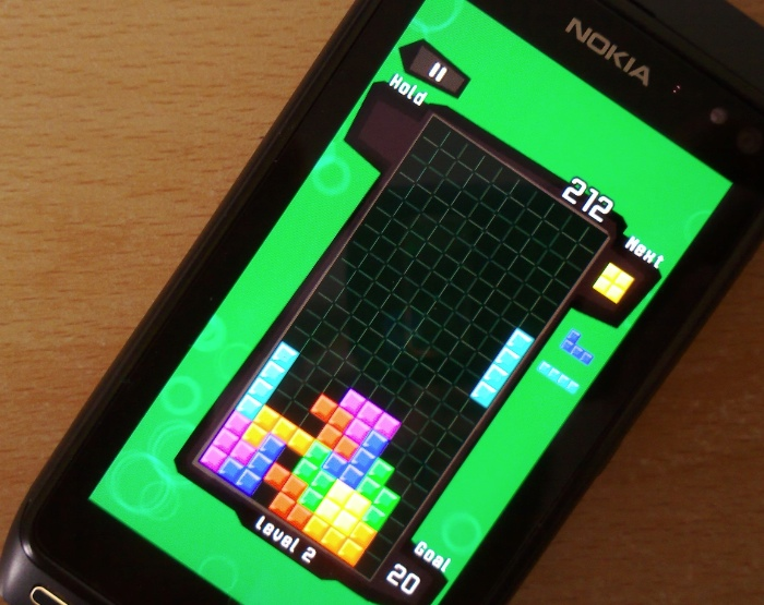 Tetris on the N8
