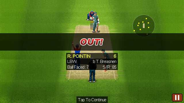 Ultimate Cricket '11 World Cup review - All About Symbian