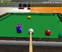 Virtual Pool Mobile Screen shot