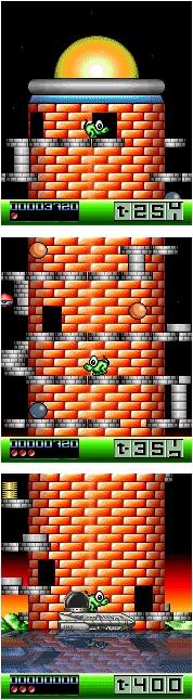 Nebulus - The Tower Level 1