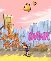 Rayman - Game over